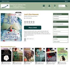 OverDrive, Carmel Clay Public Library's provider of downloadable eBooks and Audio books now has a new look.  Check it out!