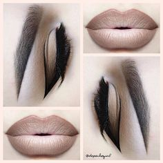 """Lips - NYX Cosmetics Wonder Pencils in Light, Medium, & Dark and OCC Makeup Pennyroyal Colour Pencil. Eyes - Morphe Brushes Warm Palette and all Morphe Brushes used. Aappeal Cosmetics """"Boldest"""" Mink Lashes."""
