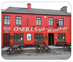 O'Neill - Click on the pub image above to be the first on your block to own a unique authentic traditional family name Pubs of Ireland mousepad. The mousepad is 8¼ x 9 and is made from stain-resistant high density foam. Only $10 ea. (plus $5 s&h). Cheers!