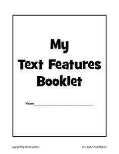 25 Best Kindergarten Nonfiction Text Features images