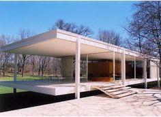 Mies van der Rohe, Ludwig: Farnsworth House, Plano, Illinois, USA pictures on theredlist.com