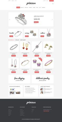 Jewelry Responsive