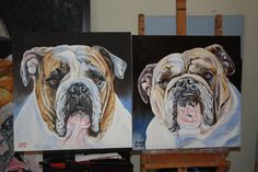double your pleasure-order 2 paintings by drago