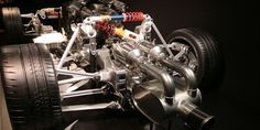 How Mercedes' Wacky Pushrod Suspension Works