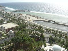 Jeddah's Corniche, Saudi Arabia