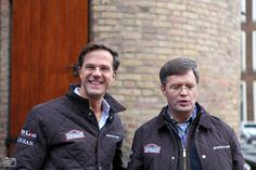 MARK RUTTE AND PETER BALKENENDE AT THE ZZF RALLY