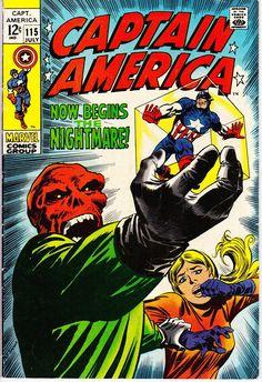 Captain America 115 1968 1st Series July 1969    Marvel