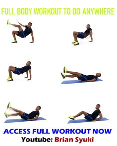 Full Body Workout to Do Anywhere
