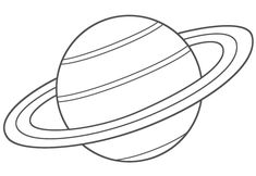 Planet Coloring Pages coloring page