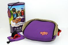 #Review: Bubble Bum Inflatable,Portable Booster Seat