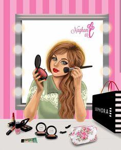 Fairy Wallpaper, Cute Wallpaper For Phone, Cute Girl Wallpaper, Cartoon Girl Images, Girl Cartoon, Couple Cartoon, Sarra Art, Girly M, Girly Girl