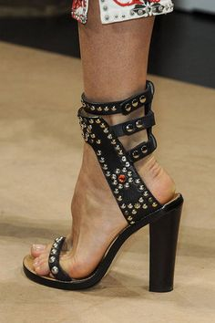 The Best Shoes From This Season's Runways. Isabel Marant #shoes #pfw