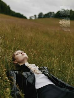 """Field of Dreams"" Steffi Soede for ELLE UK December 2015"