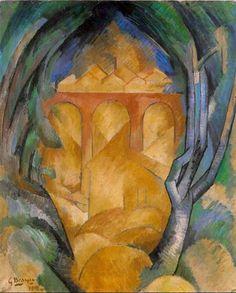 Georges Braque- Viaducto de l estaque