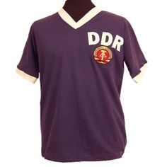 East Germany (DDR) 1974 World Cup Retro Football Shirt. 24e75a5f2