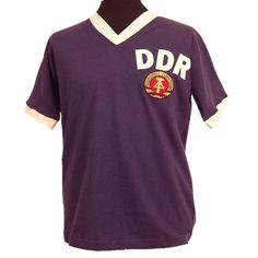 DDR 74 WORLD CUP Retro Football Shirts