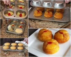 How to DIY Delicious Pineapple Upside-Down Cupcakes