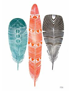 "Image Spark - Image tagged ""feathers"", ""color"", ""patterns"" - cherryblossomgel"