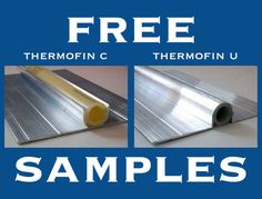 Are you installing hydronic radiant heating? Contact us for free samples of ThermoFin extruded aluminum heat transfer plates. Radiant Engineering Inc Hydronic Radiant Floor Heating, Radiant Heating System, Hydronic Heating, Solar Thermal Systems, Underfloor Heating Systems, Panel Radiators, Pex Tubing, Energy Conservation, Air Conditioning System