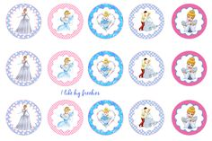 Cinderella bottlecap images #cinderella #cinderellabottlecapsforhairbows