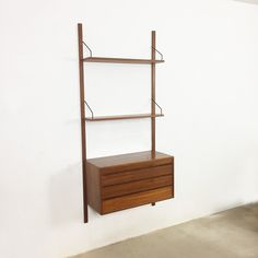 wall unit from the fifties by unknown designer for whb vintage design storage pinterest vintage designs walls and storage