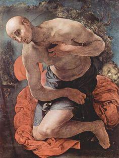 The+Penitence+of+St.+Jerome,+c.1527+-+Jacopo+Pontormo