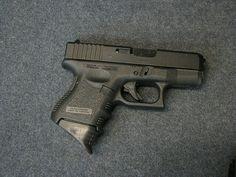 Gen 3 Glock 26 with magazine extension