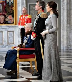 c476c0a5e9c8 Queen Margrethe hosted the traditional New Year s Levee