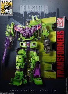 Hasbro Transformers Devastator G1 6 Constructicons Combiner SDCC 2015 Exlcusive #Hasbro http://www.ebay.com/itm/Hasbro-Transformers-Devastator-G1-6-Constructicons-Combiner-SDCC-2015-Exlcusive-/291502968414?roken=cUgayN&soutkn=dnvNgi