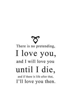 Jace Wayland - Quote - I love you Jace Wayland Quotes, Will Herondale Quotes, Jace Lightwood, Livros Cassandra Clare, Clary Und Jace, Love Of My Life, My Love, Shadowhunters The Mortal Instruments, Mortal Instruments Quotes