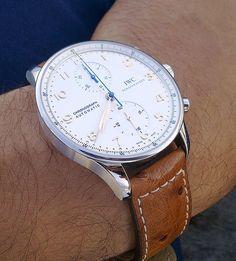 iwc watch chronograph