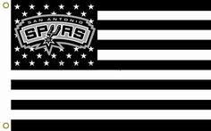 San Antonio Spurs American Flag
