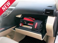 The Rubbermaid Wedge Organizer keeps car essentials organized and easy to find and can be used in sp....