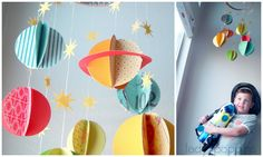 Lady Poppins: DIY Solar System Mobile  http://ladypoppins.blogspot.sg/2012/09/diy-solar-system-mobile.html