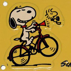 SNOOPY AND WOODSTOCK~Honk if you love...