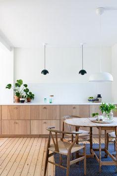 Home Decor Kitchen, Kitchen Living, Interior Design Kitchen, New Kitchen, Home Kitchens, Kitchen Decorations, Decorating Kitchen, Ikea Ekestad, Sweet Home