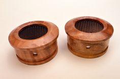 Redwood Lace Burl full length cups for Grado headphones