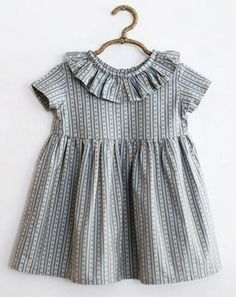 Striped Tilly Dress by SweetHannahBDesigns on Etsy