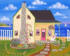 Whisper Bay Cottage: Kim's Cottage Art