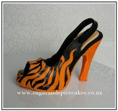 Christian Louboutin animal print inspired fondant pumps