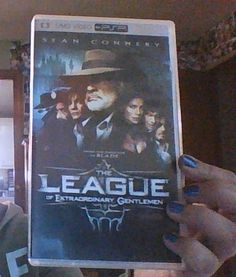 PSP MOVIE FOR THE PSP GAME SYSTEM-SEAN CONNERY IN THE LEAGUE OF EXTRODINARY GENTLEMAN-EXCELLENT