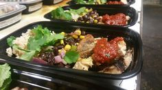 [Homemade]Chipotle Chicken Bowl. made for my small meal prep business. (Grilled chicken Chipotle sauce Black Bean Salad cilantro & lime rice) http://ift.tt/2kns4QD