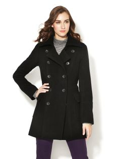 Double-Breasted Wool Coat by Wythe NY at Gilt