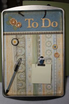 Cool cookie sheet magnetic board