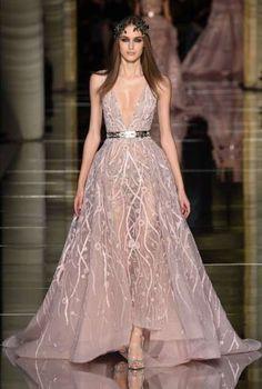 da sposa Haute Couture Primavera-Estate 2016 - Abito da sposa rosa ...