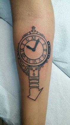 Back to the Future tattoo design