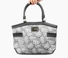Hello Kitty Tote Bag: Gray Weave