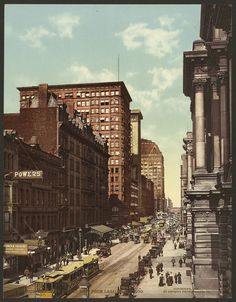 Image: Randolph Street east from LaSalle, Chicago | Cool Old Photos