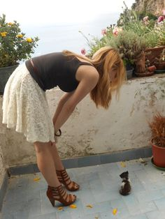 #outfit #summer #Timelessmode #blog #cat #brown