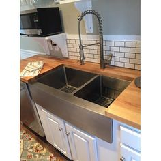 Shop Wayfair For Schon Farmhouse 36 X 21.25 Double Bowl Kitchen Sink    Great Deals On All Products With The Best Selection To Choose From!